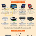 ASUS HP Product Offers Notebooks Pavilion Beats, Officejet Envy Printers, RT Routers