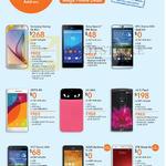 Samsung Galaxy S6, Sony Xperia M4 Aqua, HTC Desire 826 626, Oppo R5, LG AKA G Flex 2, ASUS Zenfone 5 LTE, ZTE Blade S6