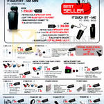 Distribution Accessories, Charger, Lightning, Itouch BT-M2 Mini, Itouch Bt-M2, Cable UL-1, IPower AC-1, 2, OC-3, 10400S, 11000, BT-M1M, M2M