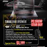 Notebooks Gamepro Shop GE62 2QF 231SG Apache Pro