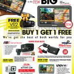 Maka GPS Car Recorder QB6, MaxPower, Prestige 100 Action Cam, UNav HD 7 GPS Navigator