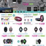 GPS Watches Vivoactive, Vivofit 2, Vivosmart, Forerunner 920Xt, 620, 220, 15, Golf Approach S6, S4