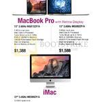 Apple Notebook MacBook Pro, IMac AIO Desktop PC
