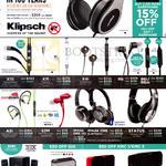 Klipsch Headphones, Earphones, Speakers, X11i, X7i, X4i, R6, R6i, R6m, A5i, S3M, Image One II, Image One Bluetooth, Status, Promedia 2.1, Gig, KMC1, KMC3