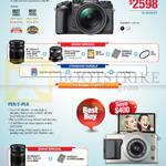 Digital Cameras OM-D E-M1, Pen E-PL6