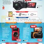 Digital Cameras OM-D E-M5 Mark II, Tough TG-4, TG-860