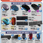 Prolink Accessories Keyboard, Mouse, Wireless, USB