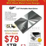 QP II External Storage Drive 1TB
