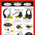 Wireless Headsets, Symphony 360 380 Plus 350, Audio Transceiver, Digital Audio Converter, Splitter