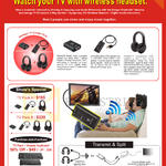 Wireless TV Packs