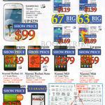 Mobile Phones Samsung Trend, Ace 3, Core 3, Win, Core Prime, Xiaomi Redmi, Note, Mi3, Mi4, MiPad, Nokia X