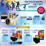 Digital Cameras NX3000, NX500, NX3300, Free Samsung Galaxy Tab 3V