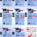 Monitors LED Touch UHD S27D590PS, S27B970DS, U28D590DS, S24C770T, S27D850T, S32D850T, S24D300HLR, U32D970Q, S20D300NH