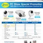 SmartCam SNH-E6411BN, SNH-E6440BN, SNH-P6410BN Comparison