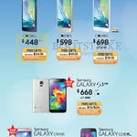 Smartphones Galaxy A3, A5, A7, S5. Grand, Core