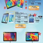 Tablets Galaxy Tab S, Tab A, Tab 3, Tab Pro, Tab 4