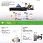 Storage Devices Personal Cloud, Stream With Wireless, Wireless Plus Mobile Device Storage