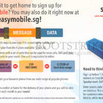 Easymobile Sign-Up