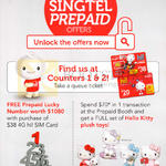Free Prepaid Lucky Number, Hello Kitty Plush Toys