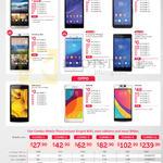 HTC One M9, Desire 826, Sony Xperia C3, E4g, M4 Aqua, Z3, OPPO Neo 5, R5, N3, Combo Mobile Plans