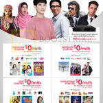 TV Packs Free 6 Months, Jingxuan, Inspirasi, Desi Starter, Kondattam