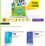 Mobile Prepaid, Tablets Samsung Galaxy Tab A, Sony Xperia Z3 Compact