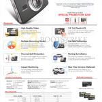 ZMC Automotive Driving Recorder Thinkware Dash Cam X150 Features