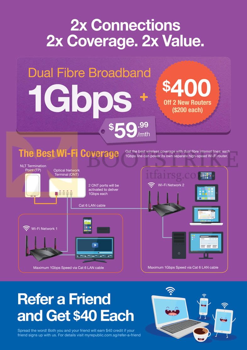PC SHOW 2016 price list image brochure of MyRepublic 59.99 1Gbps Dual Fibre Broadband