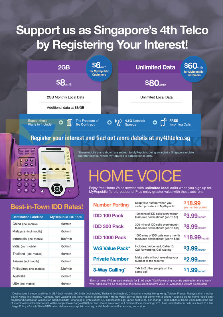 Myrepublic Mobile 2gb Unlimited Data Plans Home Voice
