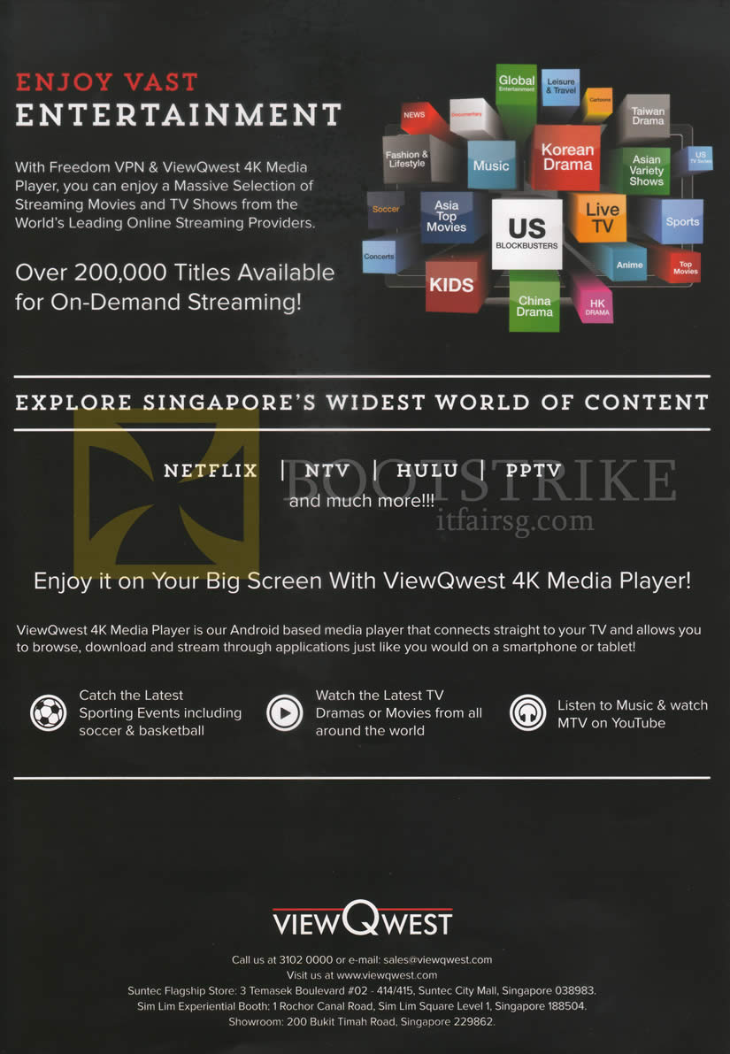 PC SHOW 2016 price list image brochure of Viewqwest Movies TV 4K Media Player
