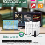 QNAP Android Home Multimedia HDMI NAS TAS-168, TAS-268