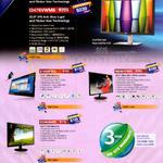 Monitors E1659FWU, M2461FWH, E2060SWD, I2276VWM6, I2476VWM6