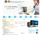 Desktop PCs Vivo K20CD Series, K20CD-SG006T, K20CD-SG005T
