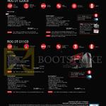 Notebooks ROG DT G20CB Series G20CB-SG011T, G20CB-SG006T, G11CB-SG006T, G11CB-SG004T, G11CD-SG001T