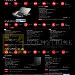 Notebooks ROG GX700 Series GX700VO-GC009T, G752VY-GC366T, G752VT-T7020T, G752VL-GC097T, GL502VT-FW128T, GL552VW-CN227T