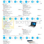 Notebooks VivoBook K401UQ-FR025T, K401UQ-FR016T, K501UX-DM079T, K501UQ-DM017T, X550VX-DM066T, X456UQ-WX016T, X556UQ-XX040T, E200HA-FD0004TS