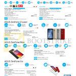 Smartphones ZenFone Series, ZenFone 2 ZE551ML, ZenFone Selfie ZD551KL, ZenFone 2 Laser 6-inch FHD ZE601KL, ZenFone Max ZC550KL, ZenFone GO ZB452KG