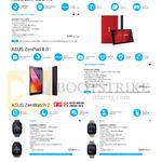 Tablets ZenPad Series, ZenPad C 7.0 Z170CG, ZenPad 8.0 Z380KL, ZenWatch Series, ZenWatch 2 WI501Q, ZenWatch 2 WI502Q