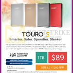 HGST TOURO S Portable HDD TB