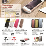 Walk IPhone Cases, Chameleon Immortal I6, Trio-UBO 6000, Cable, Power Banks