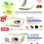 Projectors XJ-V1, XJ-V100W