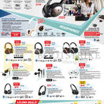 Headphones, Lelong Deals, Aurvana Platinum, Gold, Live 2, In-Ear 3 Plus, 2 Plus, Air, Hitz WP380, 450, Sound Blaster JAM