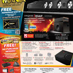 Speakers Sound Blaster Roar 2, Roar Pro Killer, IRoar Killer Deal