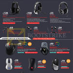 Cooler Master Gaming Headsets, Mouse, Mousepads, Sirus, Pulse, Ceres, Resonar, Pitch, Sentinel, Xornet, Reaper, Recon