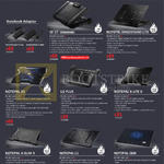 Cooler Master Notebook Coolers, Notepal, U2 Plus