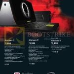 Notebooks Alienware 17 AW17-670113G-W10-Blk, 670114G-W10-Blk, 670114G-W10-Blk