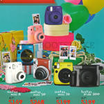 Fujifilm Digital Cameras (No Prices) Instax Mini 8, 90, 70, Wide 300
