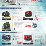 Fujifilm Digital Cameras (No Prices) XQ1, S1, X-S1, S9200, T500, F850, XP80