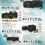 Digital Cameras X Pro 2, X-T1, X-T10, X-E2S, X-A2