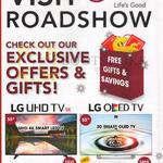 Gain City LG Roadshow TVs LG 55UH650T, 55EG910T